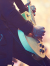 Rock Guitar Musician
